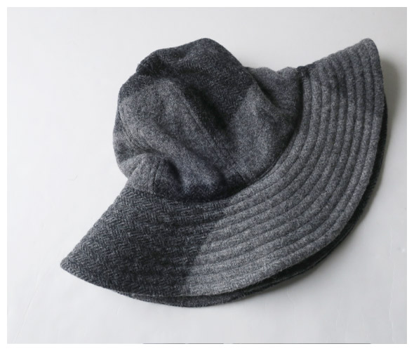 Engineered Garments エンジニアドガーメンツ Mountain Hat - Big Plaid Hv Weight H.B マウンテンハット