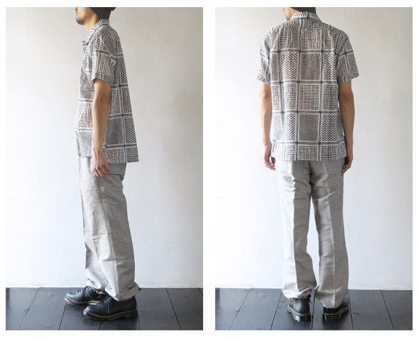 Engineered Garmentsのシャツのモデル着用画像