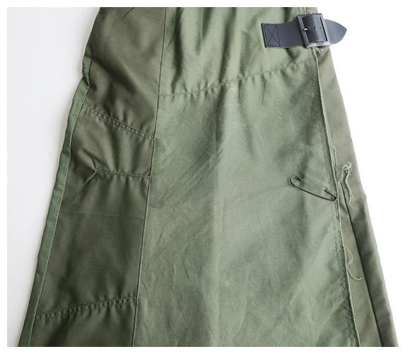REBUILD by Needles(リビルドバイニードルズ) ラップスカート DI288の商品ページです。
