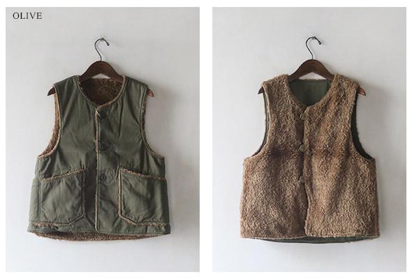 Engineered Garmentsのベストの詳細画像