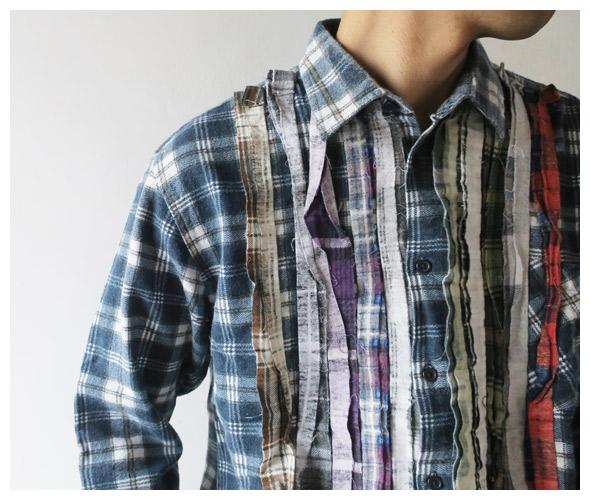 REBUILD by Needlesのシャツのモデル着用画像