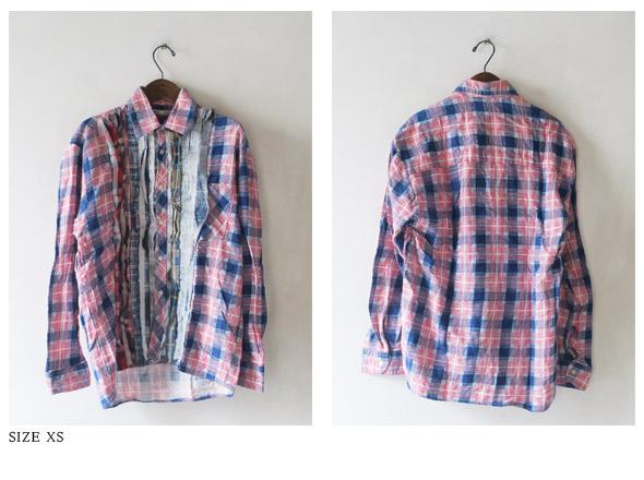 REBUILD by Needlesのシャツの詳細画像