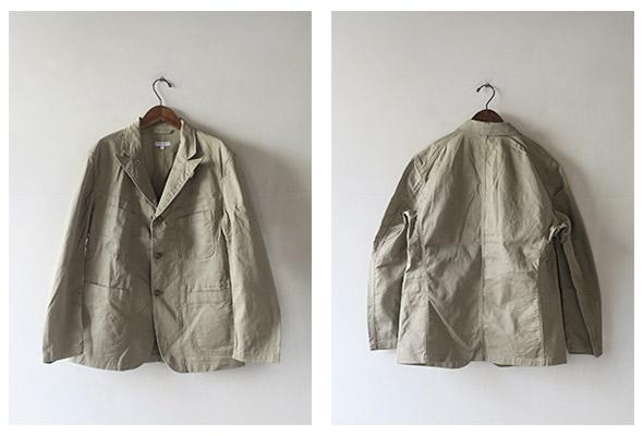 Engineered Garments エンジニアドガーメンツ Bedford Jacket - 6.5oz Flat Twill ベッドフォードジャケット