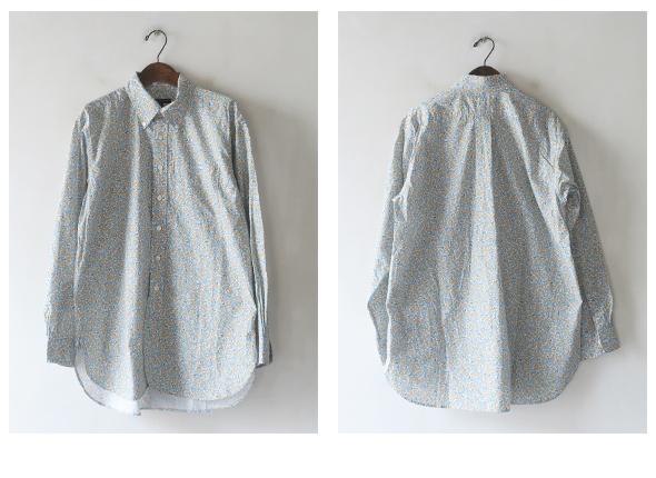 Engineered Garments エンジニアドガーメンツ 19th BD Shirt - Mini Floral Print シャツ