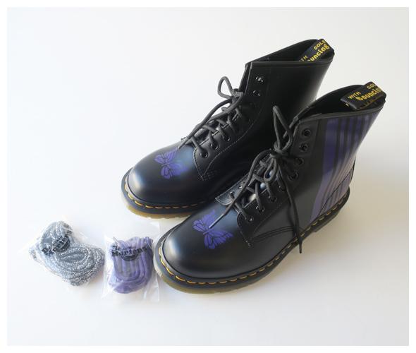 Needles×Dr.Martens ニードルズ×ドクターマーチン Needles Special 8 Holes Stripe Boot 8ホールブーツ