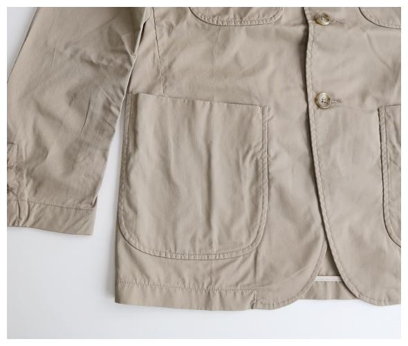 Engineered Garments(エンジニアドガーメンツ) NB Jacket - High Count Twill ik090の商品ページです。