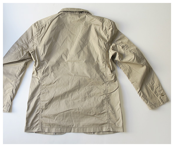 Engineered GarmentsのNB Jacket - High Count Twillの詳細画像