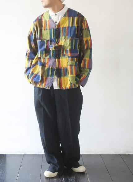 Engineered Garments Cardigan Jacket - Cotton Ikat エンジニアドガーメンツ カーディガンジャケット