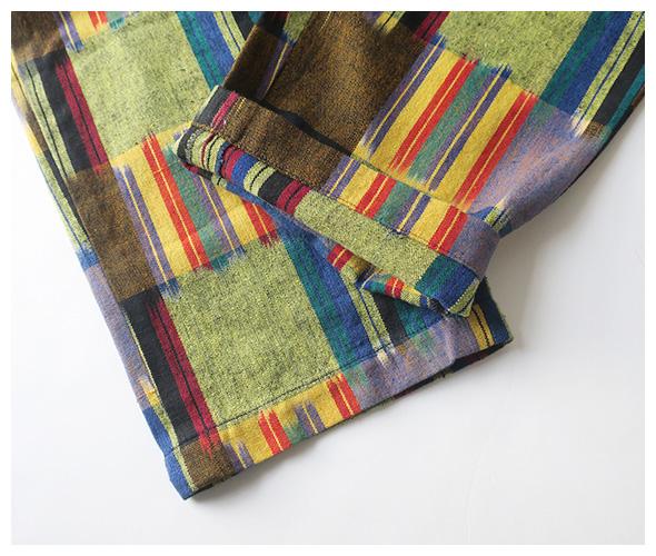 Engineered Garments(エンジニアドガーメンツ) Drawstring Pant - Cotton Ikat ik210の商品ページです。