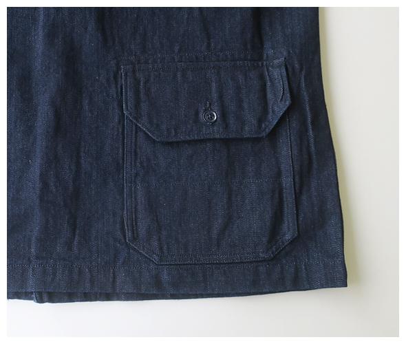Engineered Garments - Shawl Collar Jacket - 10oz Broken Denim エンジニアドガーメンツ ショールカラージャケット