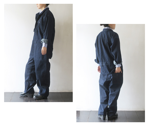 Engineered Garments - Racing Suit - 10oz broken Denim エンジニアドガーメンツ レーシングスーツ