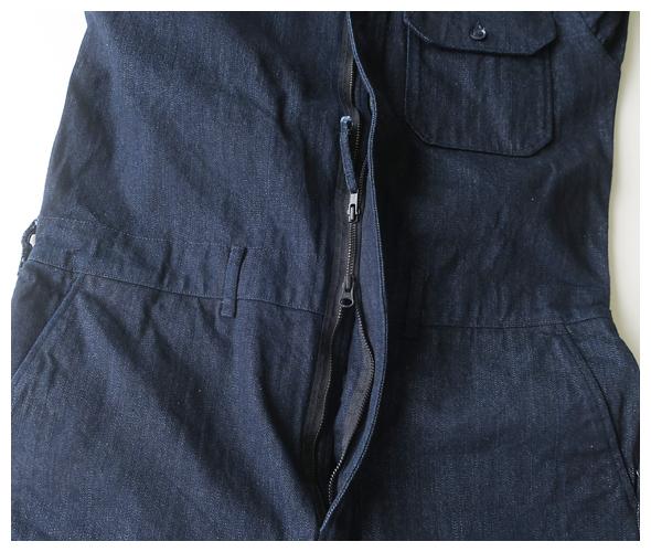 Engineered Garments(エンジニアドガーメンツ) Racing Suit - 10oz broken Denim jl227の商品ページです。