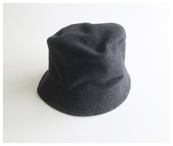 Engineered Garments(エンジニアドガーメンツ) Bucket Hat - Polyester Fake Melton jl244の商品ページです。