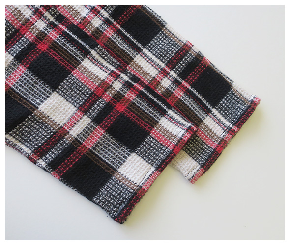 South2 West8 Mexican Parka Dress - Plaid Pique サウス2ウエスト8 メキシカンパーカドレス
