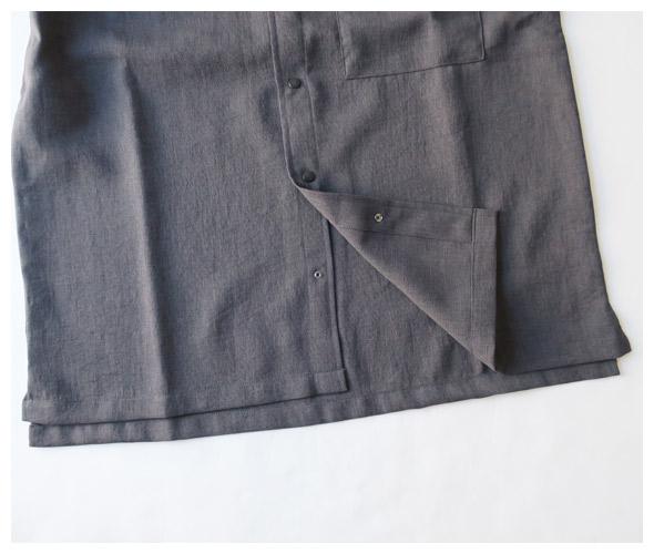 THE NORTH FACE PURPLE LABEL(ザ・ノースフェイス・パープルレーベル) MESH H/S Stand Collar Shirt NT3723Nの商品ページです。