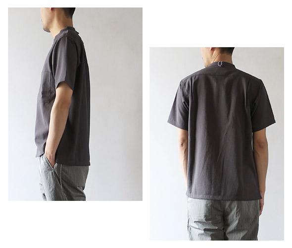 THE NORTH FACE PURPLE LABELのシャツのモデル着用画像