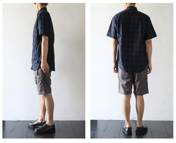 SASSAFRASのショーツのモデル着用画像