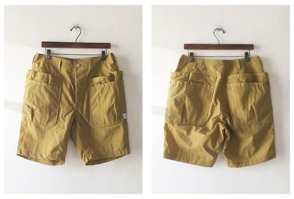 SASSAFRAS Whole Hole Pants 1/2 ササフラス ショーツ