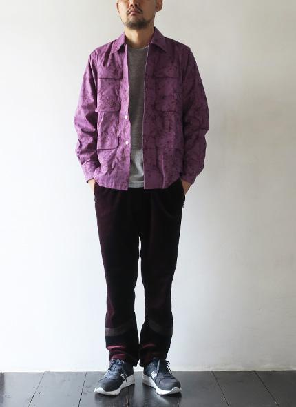 nanamicaのパンツのモデル着用画像